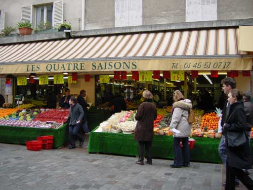 Rue Cler has 4 or 5 excellent greengrocers.